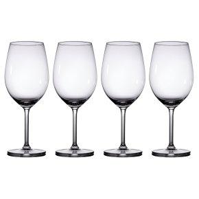 Waitrose Dining Chefs' Entertaining red wine glasses, pack of 4