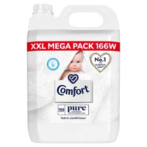Comfort Pure Fabric Conditioner 166 washes