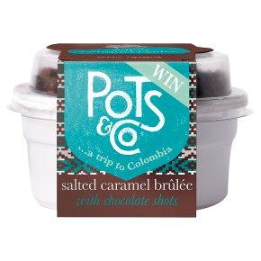 Pots & Co Salted Caramel Brûlée