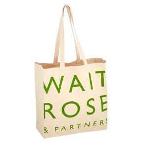 Waitrose Core Cotton Bag