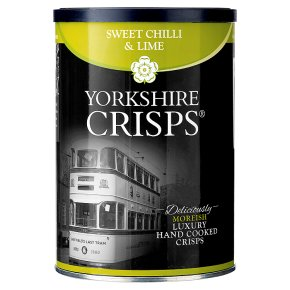 Yorkshire Crisps - sweet chilli & lime