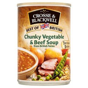 Crosse & Blackwell Best of British Vegetable Beef Soup
