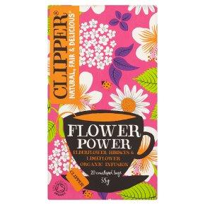 Clipper Flower Power 20 Enveloped Bags