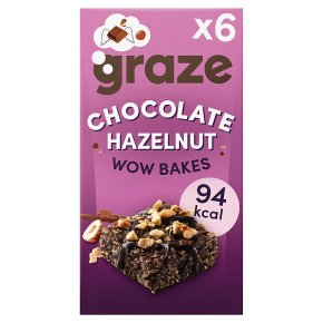 Graze Wow Bakes Chocolate Sea Salt