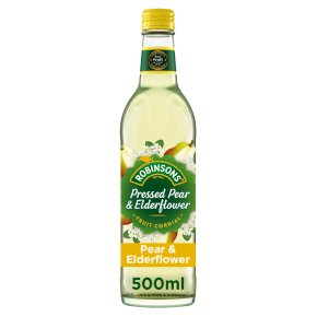 Robinsons Pressed Pear & Elderflower Cordial