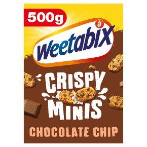 Weetabix crispy minis chocolate chip
