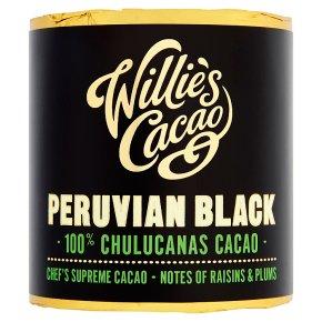 Willie's Cacao Peruvian Black