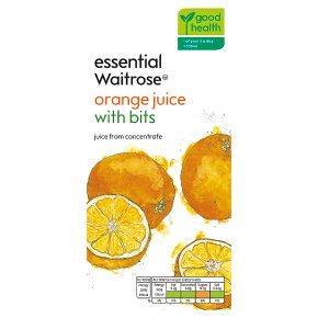 essential Waitrose Orange Juice with Bits