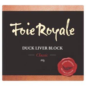 Foie Royale Duck Liver Block