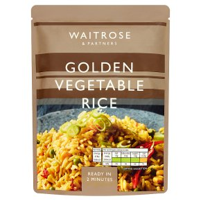Waitrose Golden Vegetable Rice