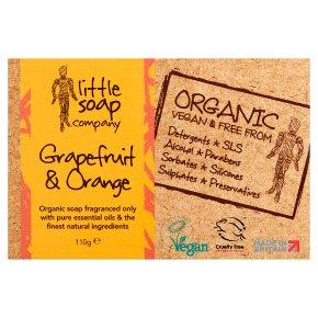 Little Soap Company Organic Grapefruit