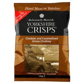 Yorkshire Crisps - cheddar & onion