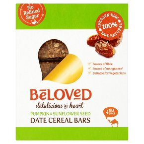 Beloved Pumpkin & Sunflower Seed Date Cereal Bars