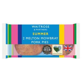 Waitrose 2 Melton Mowbray pork pies