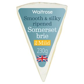 Waitrose mild Somerset Brie cheese, strength 2