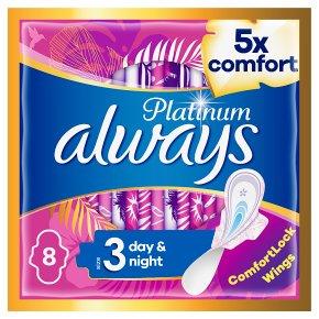 Always Platinum Pads Size 3