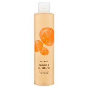 Waitrose Amber & Bergamot Body Wash