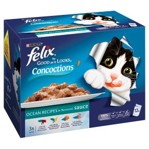 Felix As Good As It Looks Cat Food Concoctions Ocean