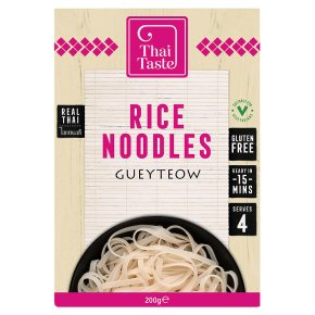 Thai Taste rice noodles gueyteow