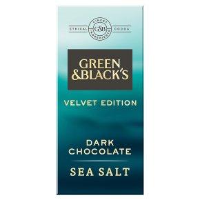 Green & Black's Velvet Edition Sea Salt Dark Chocolate Bar