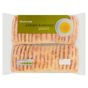 Waitrose panini