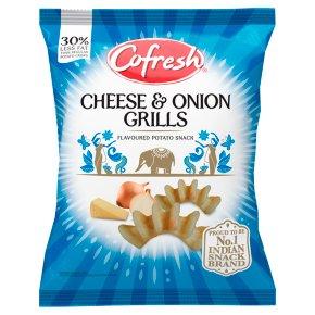 Cofresh pot snacks - cheese & onion