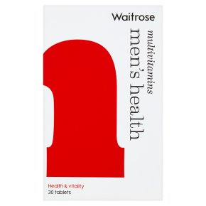 Waitrose Men's Health Multivitamins
