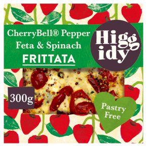 Higgidy Cherrybell Pepper & Spinach Frittata