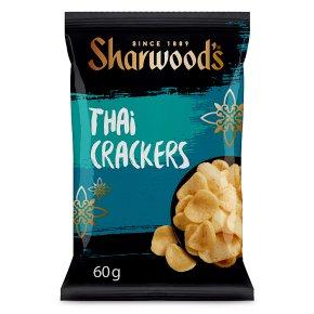 Sharwood's Thai spiced crackers