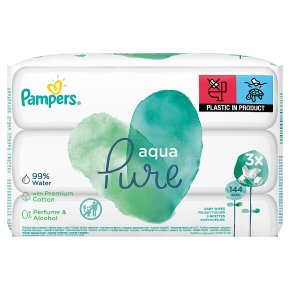 Pampers Pure Wipes