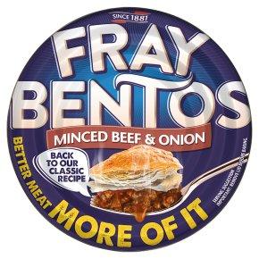 Fray Bentos 'gentle' minced beef & onion pie