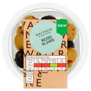 Waitrose Mixed Olives