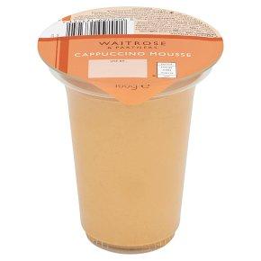 Waitrose cappuccino mousse