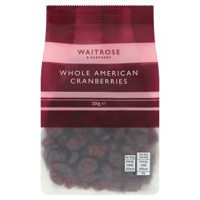 Waitrose Whole American Cranberries