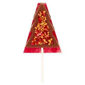 Waitrose Christmas Milk Chocolate Tree Lollipop