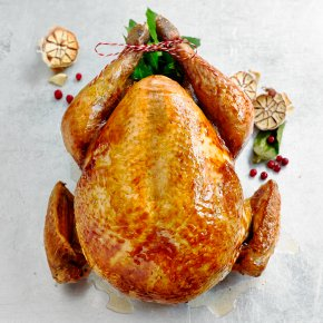 Waitrose 1 Free Range Dry Aged Bronze Feathered Turkey (with giblets)