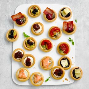 54 Pastry Galette Canapés