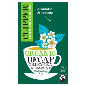 Clipper 20 Decaf Green Tea & Jasmine