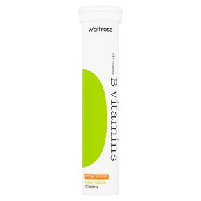 Waitrose B Vitamins Orange