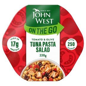 John West Light Lunch Tuna, Tomato, Olive Pasta Salad