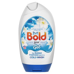 Bold 2in1 White Lily and Crystal Rain Washing Gel 24 Washes