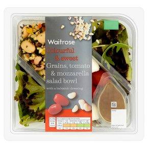 Waitrose Grains, Tomato & Mozzarella Salad