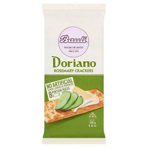 Doria Doriano Crackers Rosemary & Sea Salt