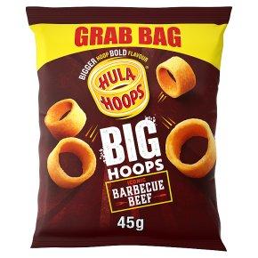 Hula Hoops Big BBQ Beef
