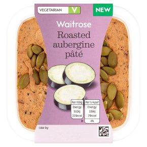 Waitrose Roasted Aubergine Pâté