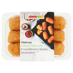 Waitrose Vegetarian Cauliflower Cheese Croquettes
