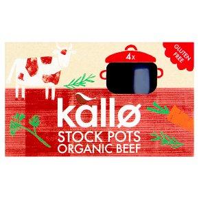 Kallo Beef Stock Pots