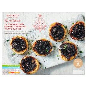 Waitrose Christmas 12 Caramelised Onion & Tomato Tarte Tatin