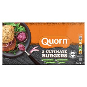 Quorn 2 Ultimate Burgers