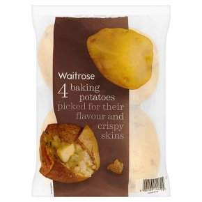 Waitrose baking potatoes